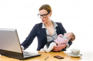 going back to work after baby
